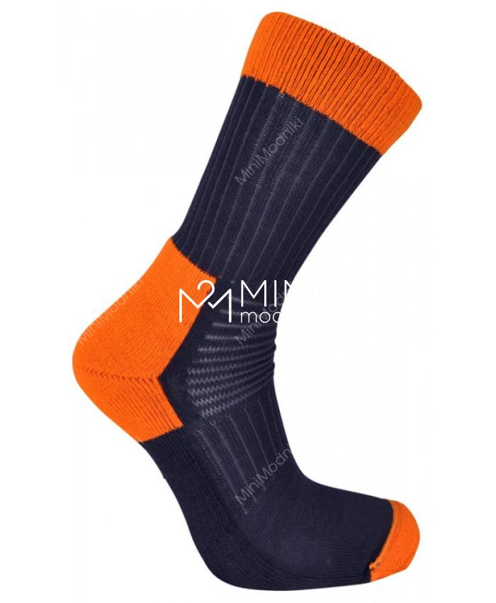 Термоноски сине-оранжевые от LINDBERG - 1