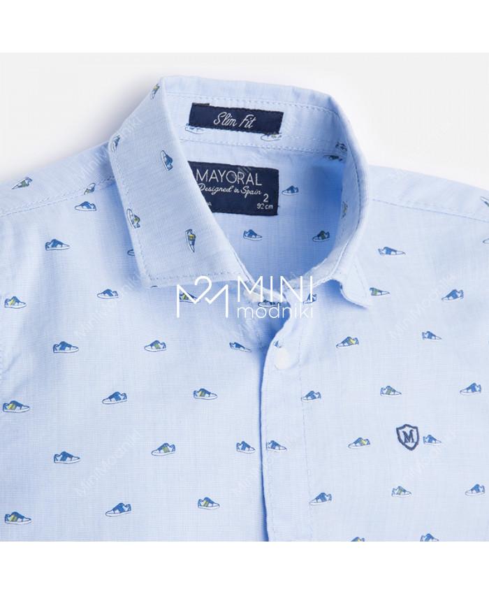 Рубашка с коротким рукавом от Mayoral - 3
