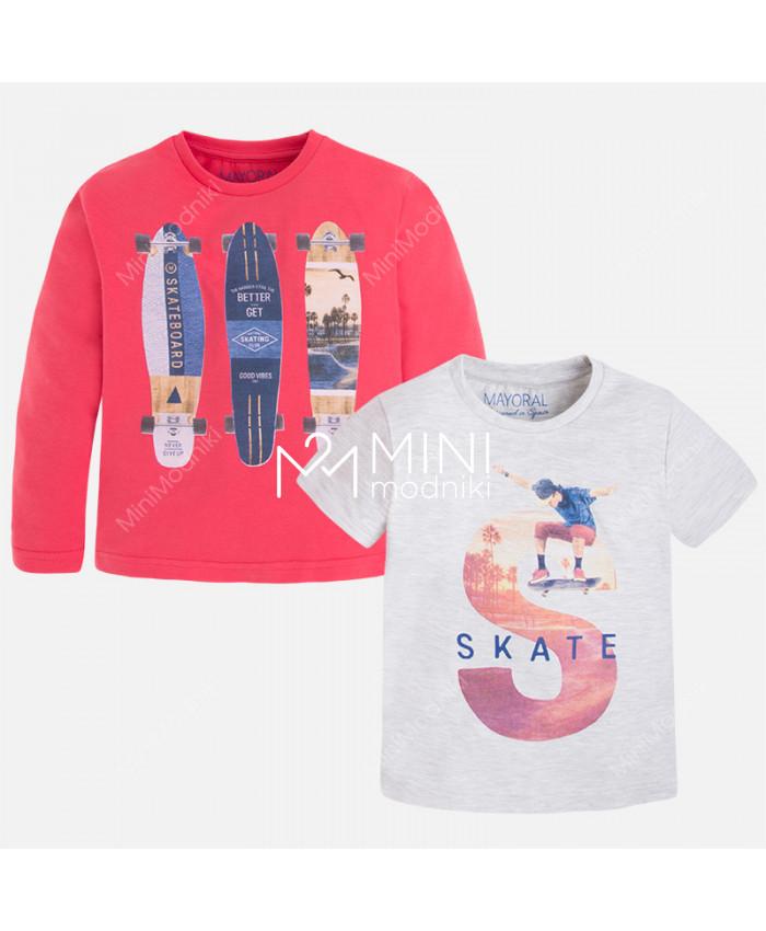 Комплект футболка+лонгслив от Mayoral - 1