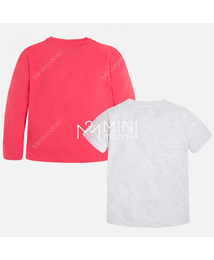 Комплект футболка+лонгслив от Mayoral - 2