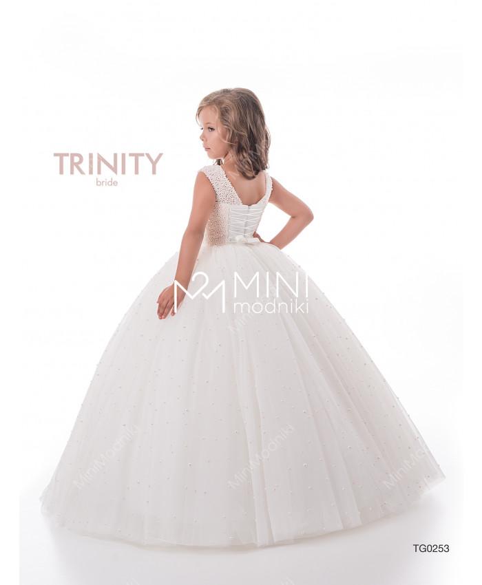 Платье пышное жемчуг от TRINITY bride - 2