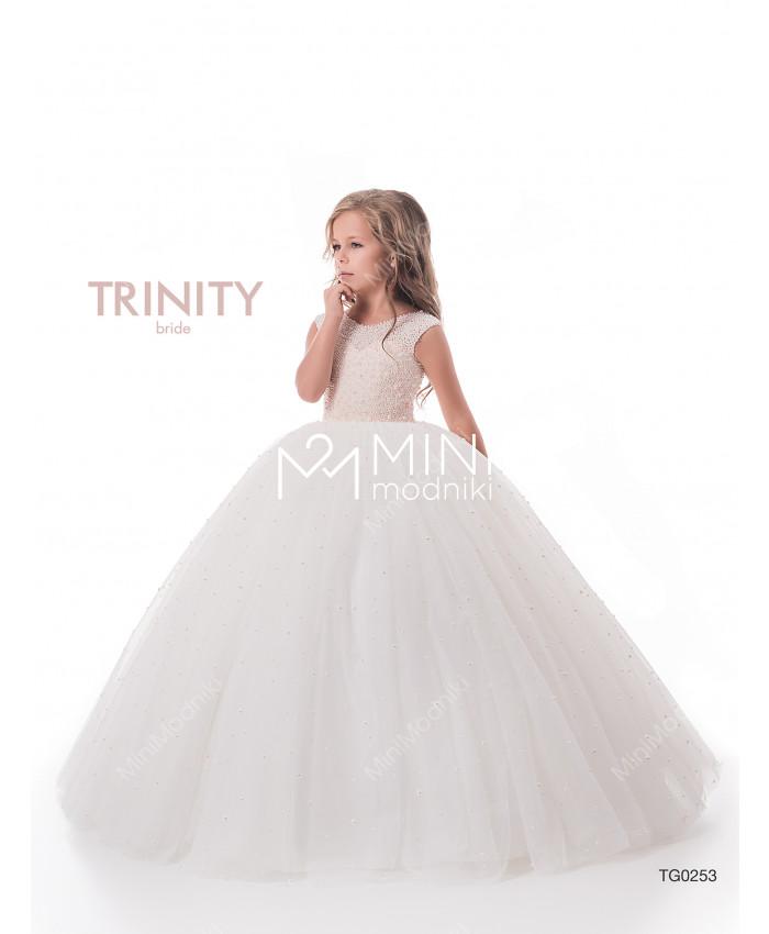 Платье пышное жемчуг от TRINITY bride - 3