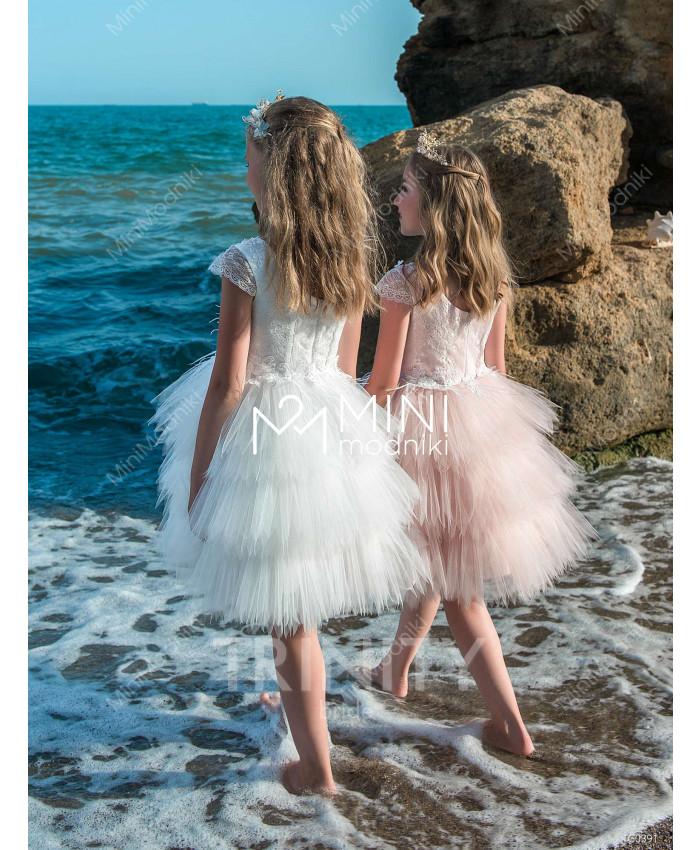 Платье-трансформер воланы от TRINITY bride - 2