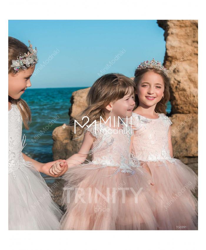 Платье-трансформер воланы от TRINITY bride - 3