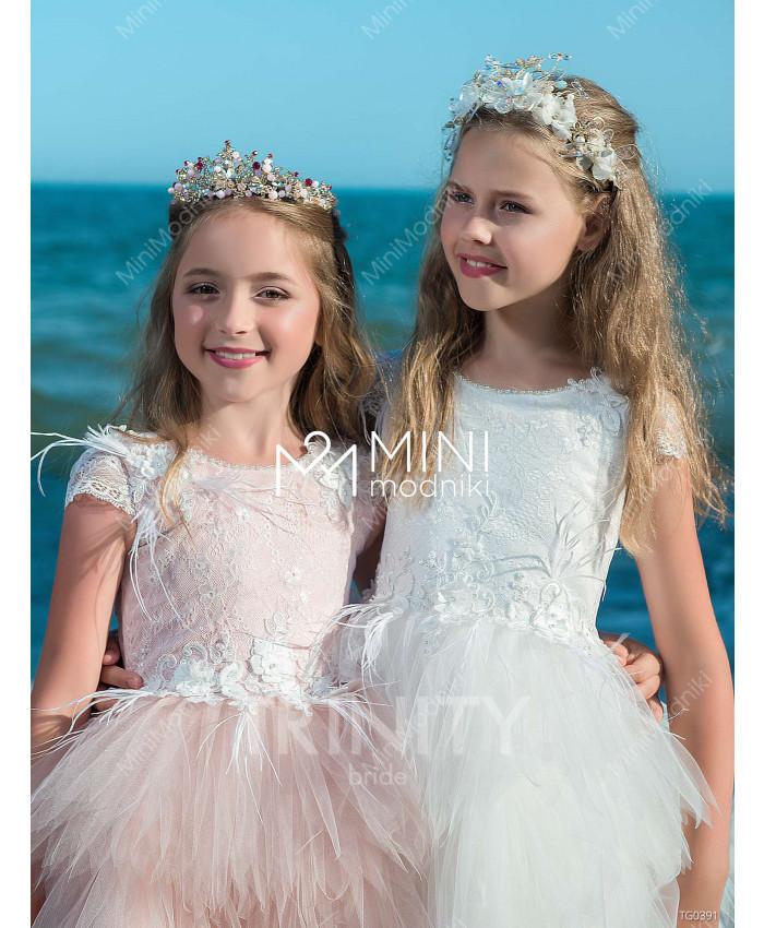 Платье-трансформер воланы от TRINITY bride - 4