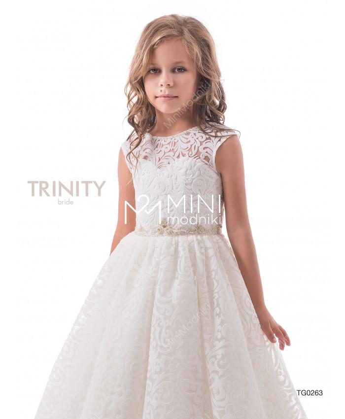 Платье бархат со шлейфом от TRINITY bride - 2
