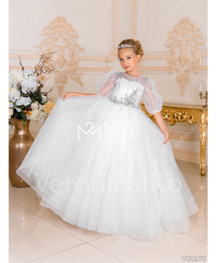 Платье пышное Волшебство инея от Veronicaiko - 3
