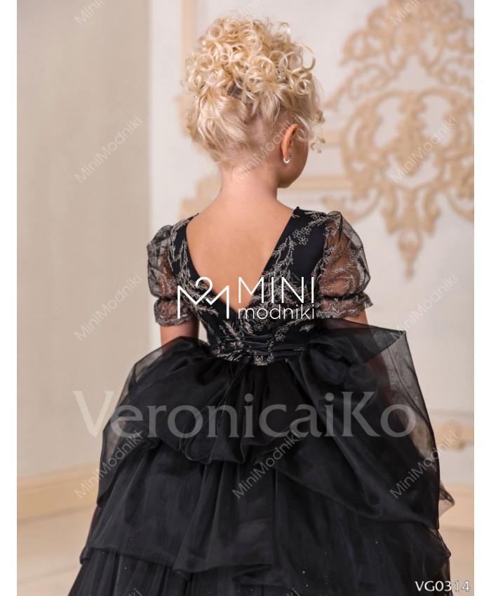 Платье пышное с рукавом фонарики от Veronicaiko - 3